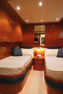 Motor yacht BONITO -  Twin Cabin